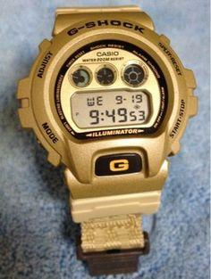 Gold G-Shock Watch