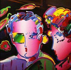 artnet Galleries: Zero in Love II by Peter Max from Gallart.com