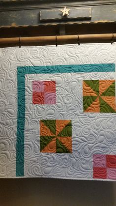 Phoebe, edge to edge quilting Longarm Quilting, Quilts, Blanket, Design, Ideas, Comforters, Blankets, Patch Quilt, Kilts