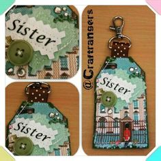 Check out this item in my Etsy shop https://www.etsy.com/listing/239775240/sister-london-guards-and-buttons-keyring