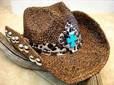 f3ea9f92a7c NaTuRaL ToFFee BrOwN StRaW CoWbOy HaT - TuRqUoiSe LeOpArD CrOss - CoUnTrY  MuSiC CoWgiRL HaT by
