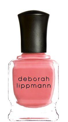 Love love love this new Mad Men inspired pink polish from Deborah Lippmann - Spring nail colors - polish
