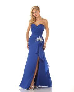Mystique 3307  Formal Dress In Stock  Royal Blue