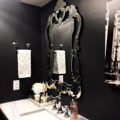 #interior #interiordesign #interiorinspo #powderroom #inspiration #bathroom #renovation #bathroomreno #powderroomreno #reno #glam #mirroredtray #mirror #luxury #details #interiordesigners #homedecor #homedesign #homestyle #mirror #horchow #zgallerie #anthropolgie #horchow #hardware #marble #quartzite #marblesubstitute See this Instagram photo by @luxedistrict.us • 47 likes