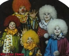 The Clown family. Okay, don't do anything funny.