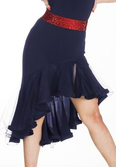 DSI Lelia Latin Dance Skirt