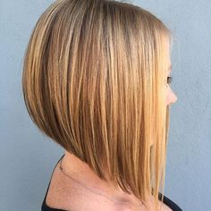 Looking for stunning inverted bob hairstyles to change things up? Find a full photo gallery of inverted bob hairstyles to get some ideas. Inverted Bob Hairstyles, Curly Bob Hairstyles, Diy Hairstyles, Straight Hairstyles, Hairstyle Ideas, Elegant Hairstyles, Black Hairstyles, Inverted Bob Styles, Long Inverted Bob