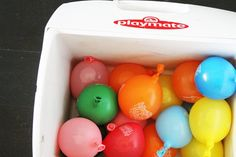 Hack a Balloon to Make an Ice Pack: Fill balloons partially full and freeze them. They'll keep your food cold and your picnic colorful