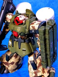 """Custom Build: HGUC 1/144 Dom Tropen """"Detailed"""" - Gundam Kits Collection News and Reviews"""