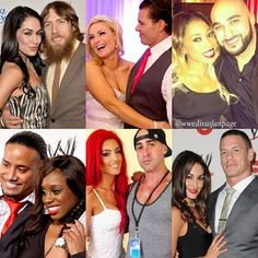 Total divas couples Love everyone but Eva marie hate her she is a backstabber