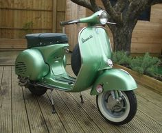 classic motor scooters | 1960 Vespa GS150 Motor Scooter