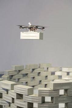 In The Future, Our Skyscrapers Will Be Built By Drones   A Swiss architecture firm is working on plans to use UAVs to assemble a skyscraper. When there are no people involved, how high can you go? [Future Drones: http://futuristicnews.com/tag/drone/ Drones for Sale at Amazon: http://futuristicshop.com/tag/drone/]