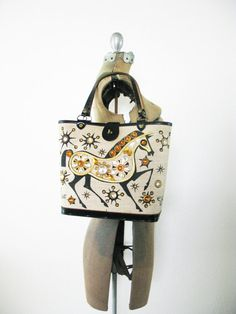 Vintage Enid Collins Gift Horse Purse