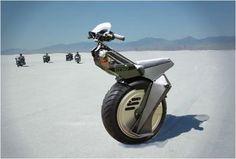 Hot unicycle.