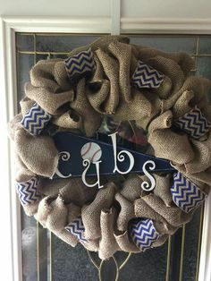 Cubs wreath