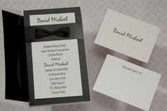 Invitation Wizard for A Formal Affair Bar Mitzvah Invitation