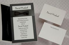 Invitation Wizard for A Formal Affair Bar Mitzvah Invitation