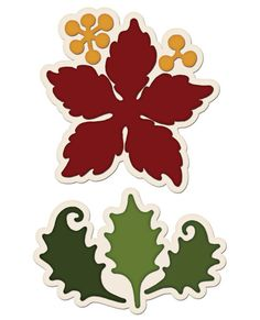 Heartfelt Creations Large Sparkling Poinsettia  - HCD1 765 Die by PNWCrafts on Etsy