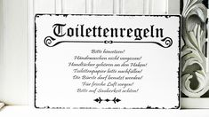 wandtattoo wc spruch toilette klopapier sticker aufkleber wandbild 1k194 pinkologisches. Black Bedroom Furniture Sets. Home Design Ideas