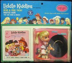 Little Kiddles from Mattel Toys.