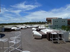 Rooftop lounge, Breathless, Punta Cana.  Great for grabbing a cocktail.  Can be rented for private events, like weddings