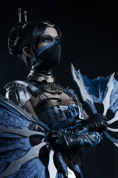 Kitana cosplay from Mortal Kombat X by KitanaStore on Etsy Cosplay, or cosplaying is, by definition, a form of dress up or costume play. Cosplayers dress up in costumes that usually are based aroun… Mortal Kombat Cosplay, Art Mortal Kombat, Kitana Mortal Kombat, Mortal Kombat X Characters, Mortal Kombat Tattoo, Wallpaper Mortal Kombat, Kitana Cosplay, Mileena, Anime Lindo