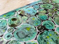 Gelli Plate with watercolor! MUST TRY!: