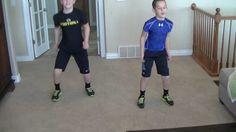 Kid 6 Min Blaster - Workout 3 YouTube Video