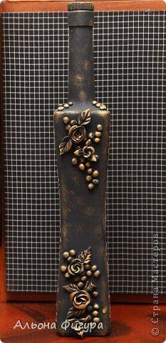 Декор предметов Лепка Декоративные бутылочки Скорлупа яичная Тесто соленое фото 3
