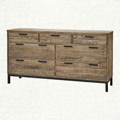 Palmer 7 Drawer Dresser In Ashland Natural | Arhaus Furniture