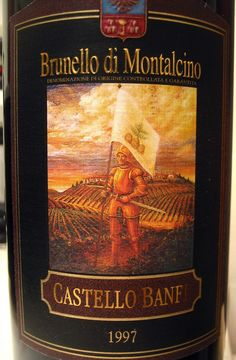 The very Best red wine! 1997 Castello Banfi Brunello di Montalcino