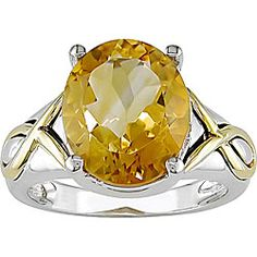 @Overstock - Click here for Ring Sizing ChartRing features a citrine centerSterling silver and 10k yellow gold jewelryhttp://www.overstock.com/Jewelry-Watches/Miadora-Sterling-Silver-and-10k-Gold-Citrine-Ring/4032170/product.html?CID=214117 $89.99