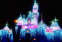 Disneyland.....I hope this is what it looks like next December!  Right Jos!