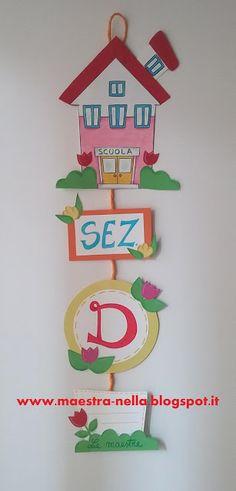 Trenino con le regole di classe cartelloni scuola dell for Addobbare la porta dell aula