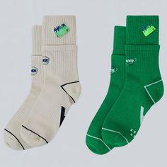 Clothing Packaging, Socks And Sandals, Streetwear, Fashion Details, Fashion Design, Designer Socks, Fashion Labels, Sport Fashion, Fashion Prints