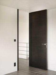 Nordex puerta interior puerta giratoria modern by GFV 0 madera - Lilly is Love Arch Interior, Room Interior, Interior Design Living Room, Interior Architecture, Modern Interior, Porte Design, Flur Design, Indoor Doors, House Doors
