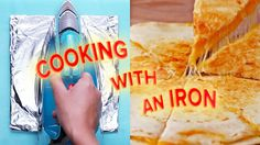 4 Foods You Can Cook With An Iron - YouTube