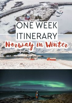 A One Week Norway Winter Itinerary - Crafted by the Experts! - Heart My Backpack Norway Winter, Whale Watching Tours, See The Northern Lights, Norway Travel, Travel Photos, Travel Tips, Travel Advice, Travel Goals, Travel Guides
