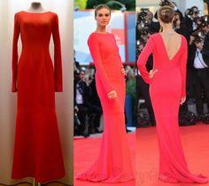 Dress hand made... Suknia wykonana ręcznie. Inspiracja Armani prive dress . Pracownia krawiecka Beata Andres