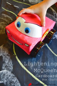 Lightening McQueen Cardboard Disney Car Craft