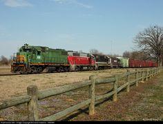 RailPictures.Net Photo: KRR 3871 Kiamichi Railroad EMD GP38-2 at Valliant, Oklahoma by David Hawkins - KB5WK