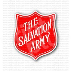 The Salvation Army Emblem Sticker