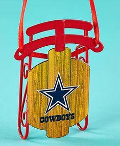 NFL Dallas Cowboys Sled Ornaments $5.98
