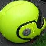 #casque #moto #roof jaune fluo peinture custom aérographe