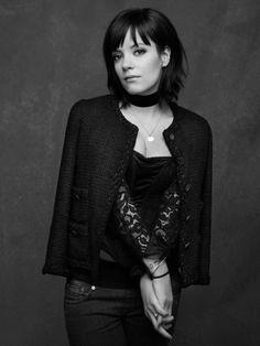 LILY ALLEN in The Little Black Jacket by Karl Lagerfeld. Chanel