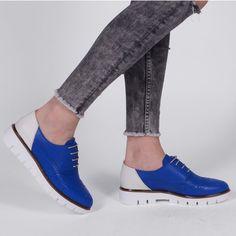 Pantofi Oxford din piele naturala albastri cu alb Tommy Men Dress, Dress Shoes, Vans Classic Slip On, Cole Haan, Oxford Shoes, Sneakers, Casual, Fashion, Tennis