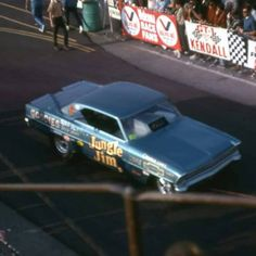 VINTAGE DRAG RACING - JLE Jungle Jim Liberman, Lightning Aircraft, Jungle Jim's, A Funny Thing Happened, Welcome To The Jungle, Drag Cars, Vintage Humor, Car Humor, Chevy
