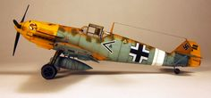 Messerschmitt Bf 109 E7 1/48 Scale Model