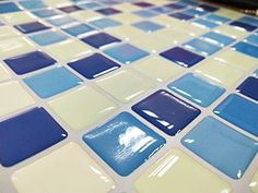 Irich Pegatinas Autoadhesivas para Azulejos 10 Unidades, Estilo Bohemio