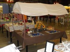 covered wagon tables